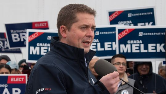 Scheer: Trudeau Should Quit As PM If Liberals Don't Win Most
