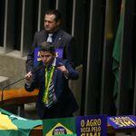 Jogo duplo: Quatro deputados apoiaram Eduardo e Delegado Waldir para