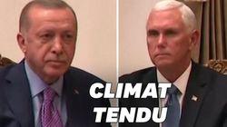 Entre Pence et Erdogan, l'ambiance était