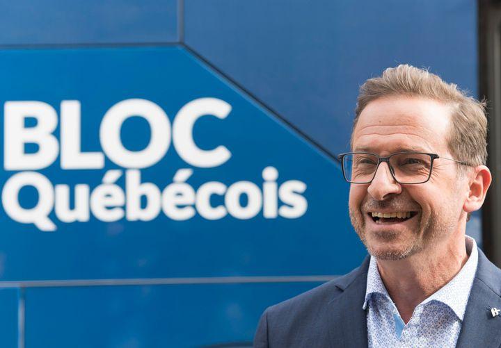 Yves-Francois Blanchet, chef du Bloc québécois