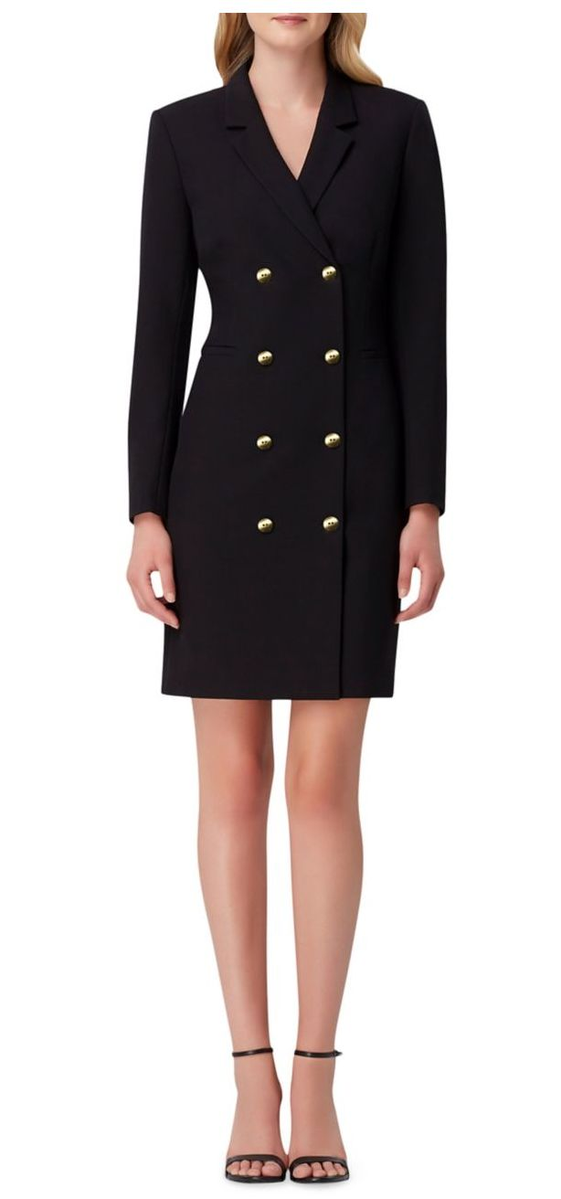 "<a href=""https://www.lordandtaylor.com/tahari-arthur-s-levine-double-breasted-blazer-dress/product/0500089450677?site_refer=CSE_GGLPLA:Womens_Outerwear:Tahari+Arthur+S.+Levine&amp;CSE_CID=G_LT_PLA_Women%27s+Apparel:All+Other+Women%27s+Apparel&amp;gclid=Cj0KCQjw_5rtBRDxARIsAJfxvYBywHUWmHIRzNpz35O5J3H8dt15jX0MgIuGmaeXWEOMuYLr-2TujTsaAoiHEALw_wcB&amp;gclsrc=aw.ds"" target=""_blank"" rel=""noopener noreferrer"">Tahari Arthur S. Levine,&nbsp;Double-Breasted Blazer Dress, $148</a>"