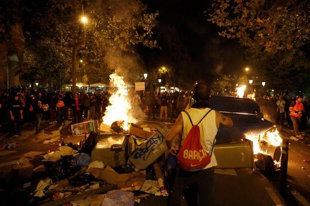 Barricadas el cuarto día de protestas en