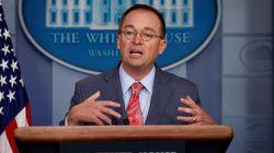 백악관 비서실장이 트럼프가 극구 부인한 '우크라이나 대가성' 인정했다가 말을