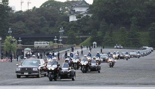 祝賀パレードは11月10日に延期。「祝賀御列の儀」