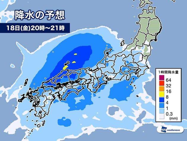 今日18日(金)の天気 明日にかけ低気圧接近 被災地は洪水等に注意