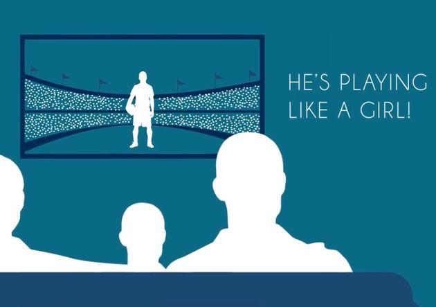 운동 경기를 볼 때 무심결에 하는 여자처럼 차네 같은 말이 옆의 아이에게 미칠 영향을 한 번 더 생각해볼 필요가