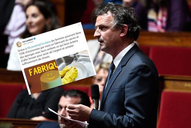 Le député François Michel Lambert a publié un message aux relents sexistes pour dénoncer les mêmes propos...