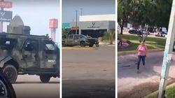 La fuga disperata dei residenti di Culiacan durante la sparatoria tra i narcos e la polizia