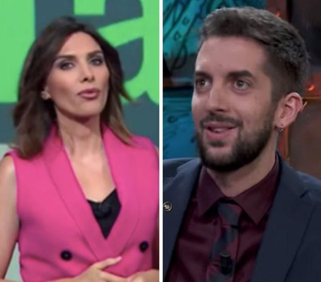 Verónica Sanz (LaSexta Noche) y David Broncano (La