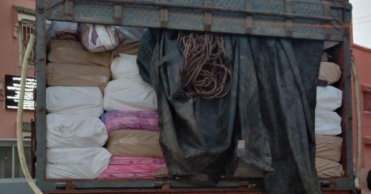 Près de deux tonnes de chira saisies à bord d'un camion à Chichaoua