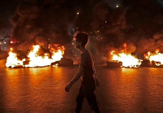 The overnight demonstrations which rocked the capital Beirut and other cities were Lebanon's largest...