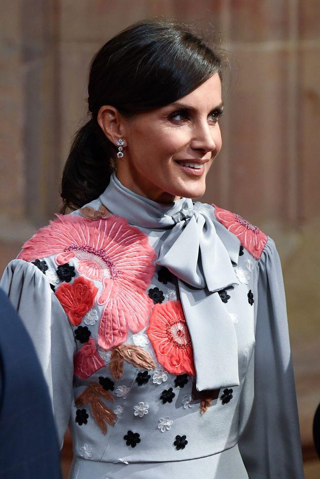 La reina Letizia, este viernes en