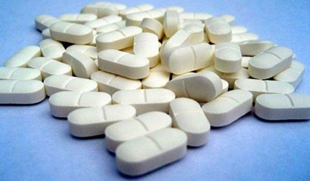 Imagen de archivo de un lote de pastillas de