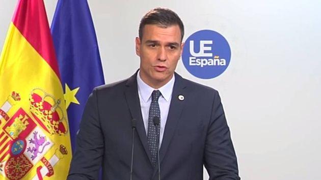 El presidente del Gobierno en funciones, Pedro