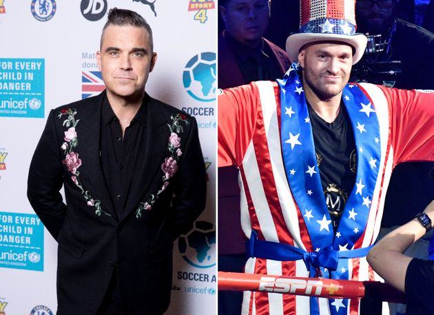 Robbie Williams' New Christmas Album Features Tyson Fury, And No We Don't Know Why Either