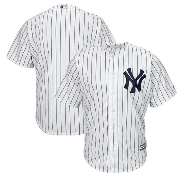 "<a href=""https://www.mlbshop.com/new-york-yankees/mens-new-york-yankees-majestic-white-home-cool-base-team-jersey/t-14996510+p-5609695445214+z-9-66671490?_ref=p-DLP:m-GRID:i-r0c2:po-2"" target=""_blank"" rel=""noopener noreferrer"">Shop MLB,&nbsp;Men&rsquo;s New York Yankees Majestic White Home Cool Base Team Jersey, $99.99</a>"