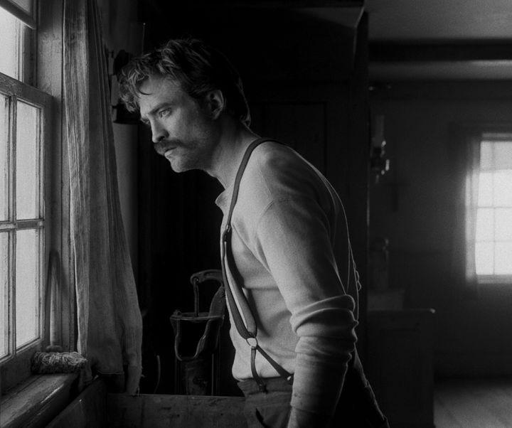 "Robert Pattinson in ""The Lighthouse."""