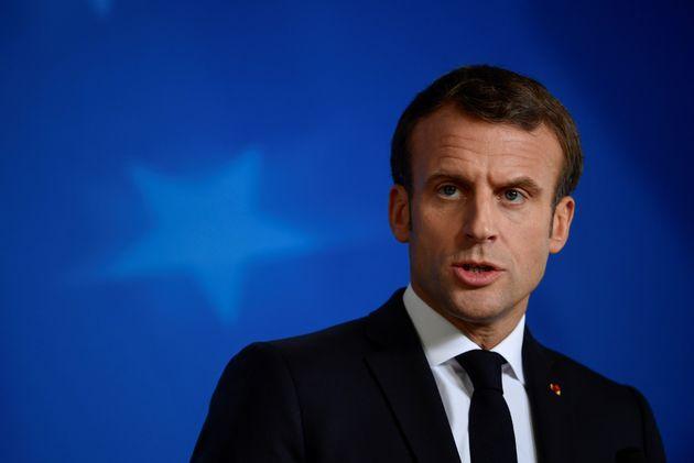 Emmanuel Macron s'exprimait à l'issue d'un sommet européen à