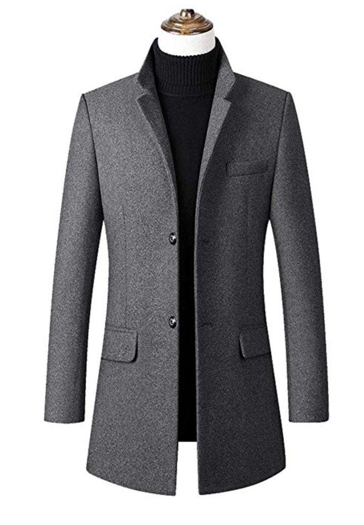 "<a href=""https://www.amazon.com/utcoco-2-Button-Insulated-Wool-Blended-Overcoat/dp/B07YCZLWQ4/ref=sr_1_3_sspa?crid=3IJJWMSNY85XV&keywords=grey%20peacoat%20men&qid=1571259058&sprefix=grey%20peacoat,aps,304&sr=8-3-spons&psc=1&spLa=ZW5jcnlwdGVkUXVhbGlmaWVyPUFBUk5DNjJMQk9YSzcmZW5jcnlwdGVkSWQ9QTA5MDc2Mzg1WTBaQ1VMNDJGWUomZW5jcnlwdGVkQWRJZD1BMDk4ODc0MjExQUlITllSRU84N1Qmd2lkZ2V0TmFtZT1zcF9hdGYmYWN0aW9uPWNsaWNrUmVkaXJlY3QmZG9Ob3RMb2dDbGljaz10cnVl&tag=thehuffingtop-20&ascsubtag=5da8aad4e4b034f1d69f300b,-1,-1,d,0,0,hp-fil-am=0"" target=""_blank"" role=""link"" data-amazon-link=""true"" data-ylk=""subsec:paragraph;itc:0;cpos:__RAPID_INDEX__;pos:__RAPID_SUBINDEX__;elm:context_link"">Utcoco, Men's Winter Basic Lapel 2-Button Insulated Wool-Blended Quilted Overcoat Peacoat, $89.99</a>"