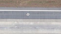 Αυτό το αεροδρόμιο έχει δύο τάφους στον αεροδιάδρομο και ελάχιστοι το