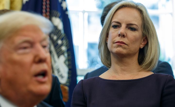 Westlake Legal Group 5da9dc6920000009125061ae Filmmaker Pulls Out Of Women's Conference Because Kirstjen Nielsen Will Be Speaking