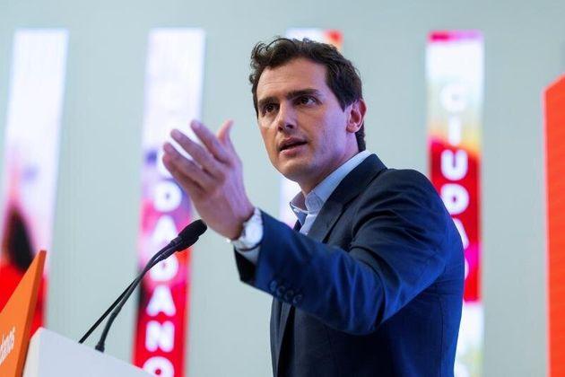 El líder de Ciudadanos, Albert Rivera. EFE/Rodrigo
