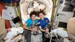 Nasa realiza 1ª caminhada espacial histórica somente com mulheres; assista ao