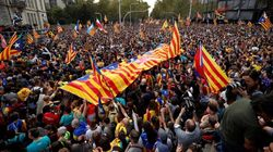 525.000 manifestantes en la marcha central de Barcelona según la Guardia