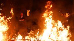 La guerrilla urbana en Barcelona recomienda lanzar a la policía cócteles para derretir su