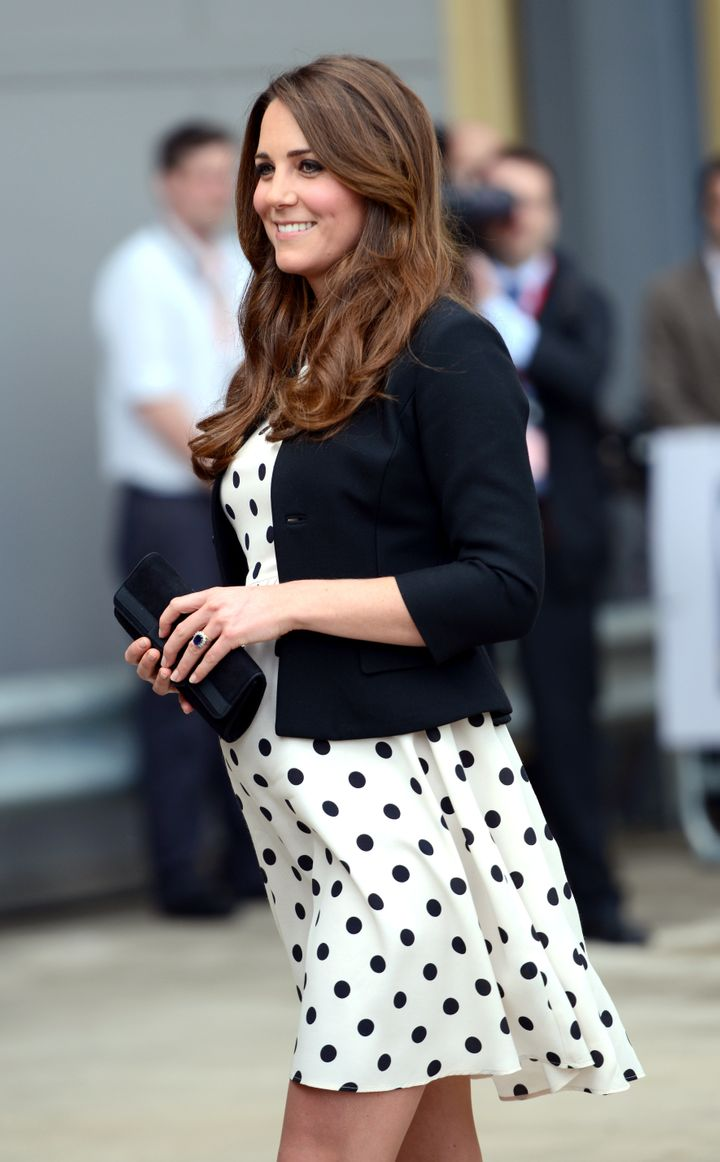 Kate Middleton indossa un vestito di Topshop