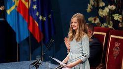 El primer discurso de Leonor en los Premios Princesa de Asturias: