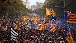 Les indépendantistes de Catalogne convergent pour une impressionnante