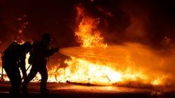 Más de 180 heridos y 54 detenidos por los disturbios en Cataluña este