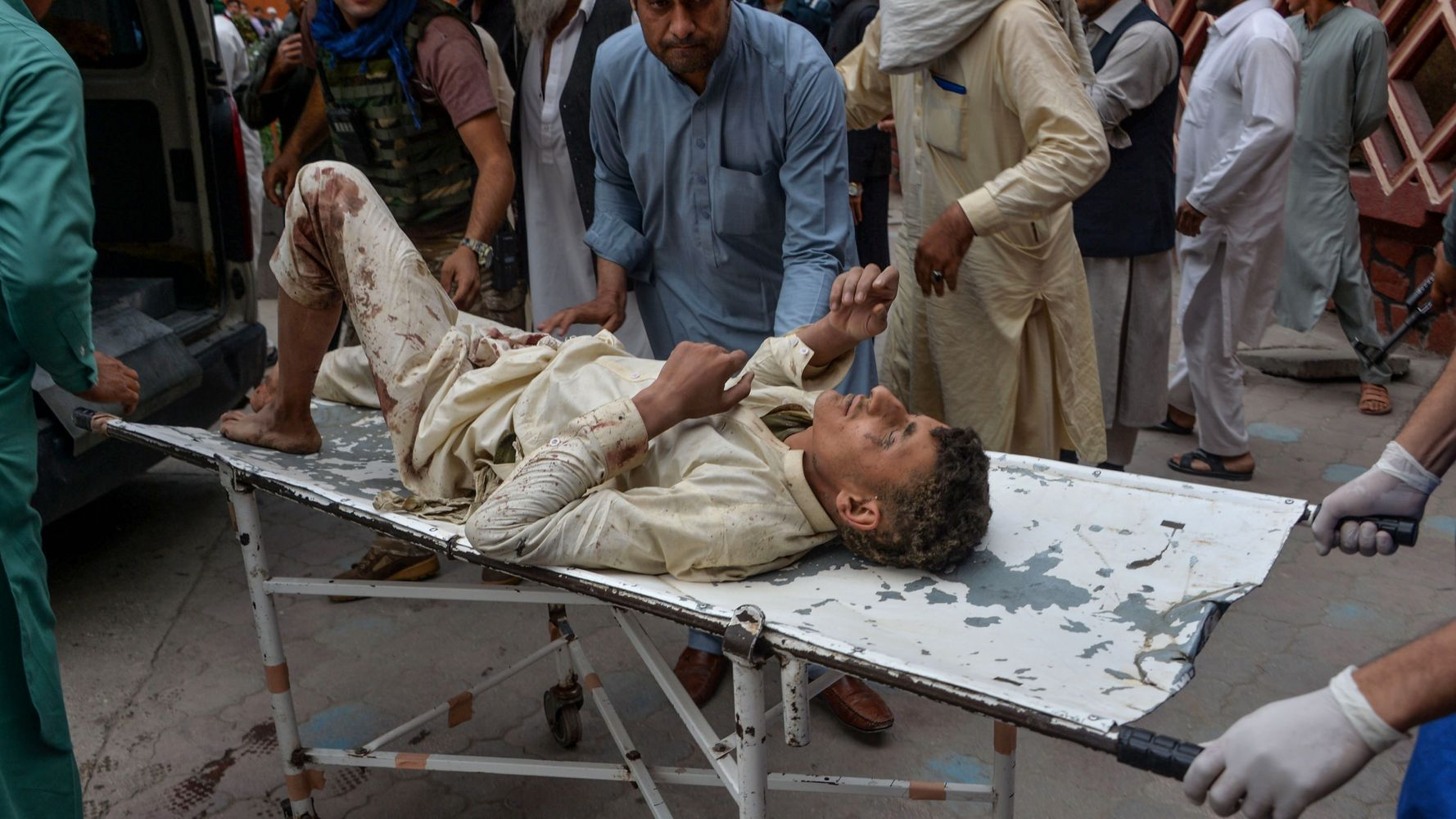 Mosque Bombing In Afghanistan Kills 62 Worshipers