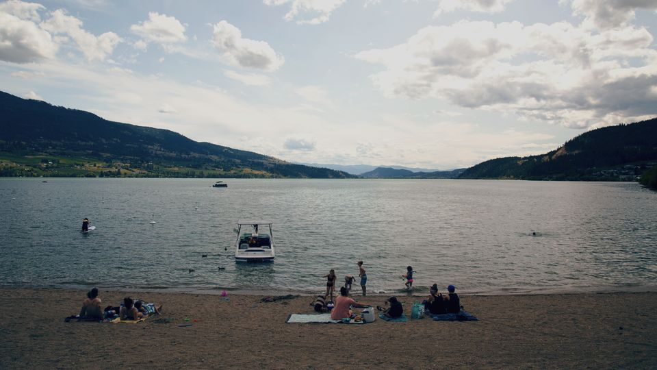 Wood Lake in Lake Country, B.C. on July 13,