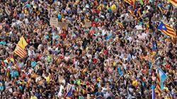 Miles de personas rechazan pacíficamente la condena a los líderes del