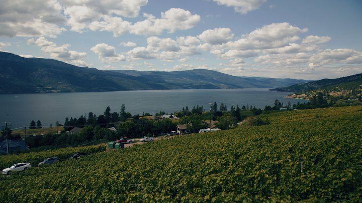Okanagan Lake is shown on July 13, 2019.