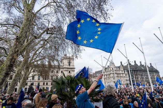 """Pour ce """"super samedi"""" de Brexit, Londres s'attend à une manifestation monstre"""