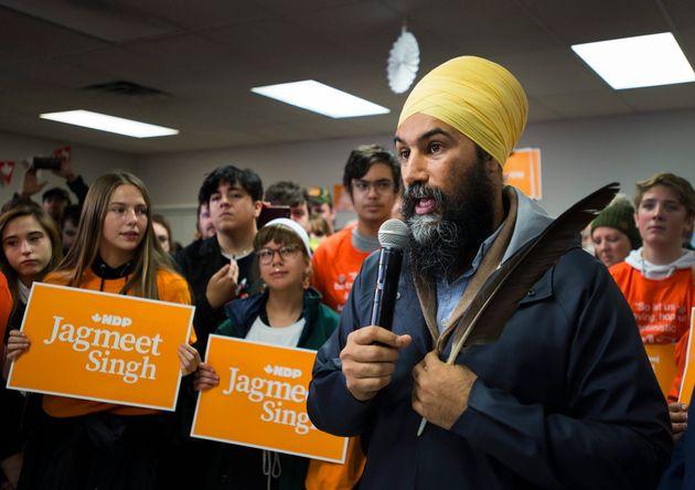 Singh pose une condition à un éventuel appui à un gouvernement