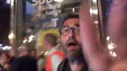 Agreden a periodistas del Canal 24 Horas de TVE en Barcelona con huevos y un palo de