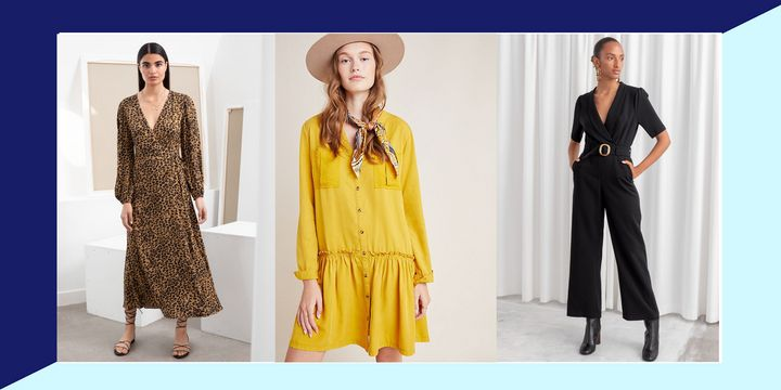 7 Fall Dresses And Jumpsuits Worth Snagging On Sale This Weekend