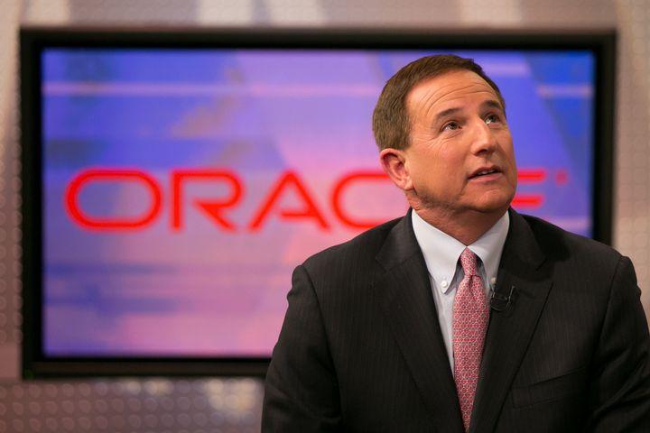 Mark Hurd, CEO of Oracle, in 2016.