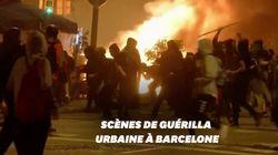 Des scènes d'émeutes en plein centre-ville de