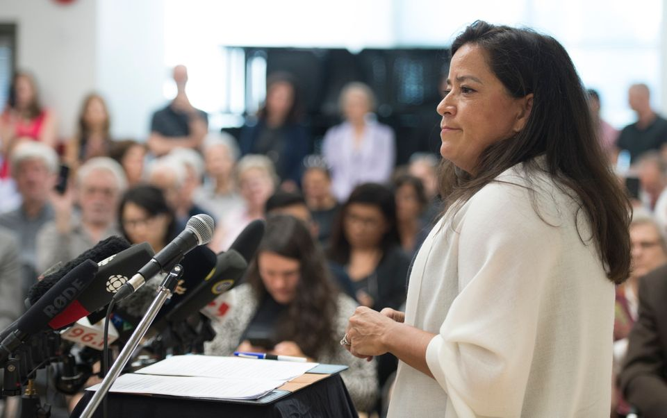 Jody Wilson-Raybould announces that she will run as an independent in the fall election during a news...