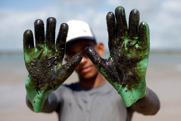 É o maior desastre desse tipo em termos de extensão da costa brasileira. Dos 8,5 mil quilômetros...