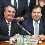 DEM flerta com PSL, e Maia avisa: sem Bolsonaro, fusão até é