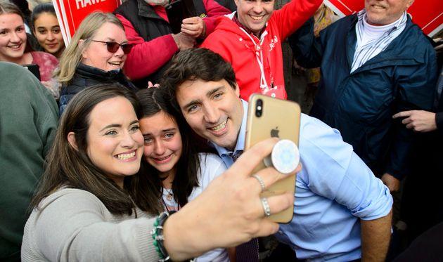 Justin Trudeau, chef du Parti libéral du