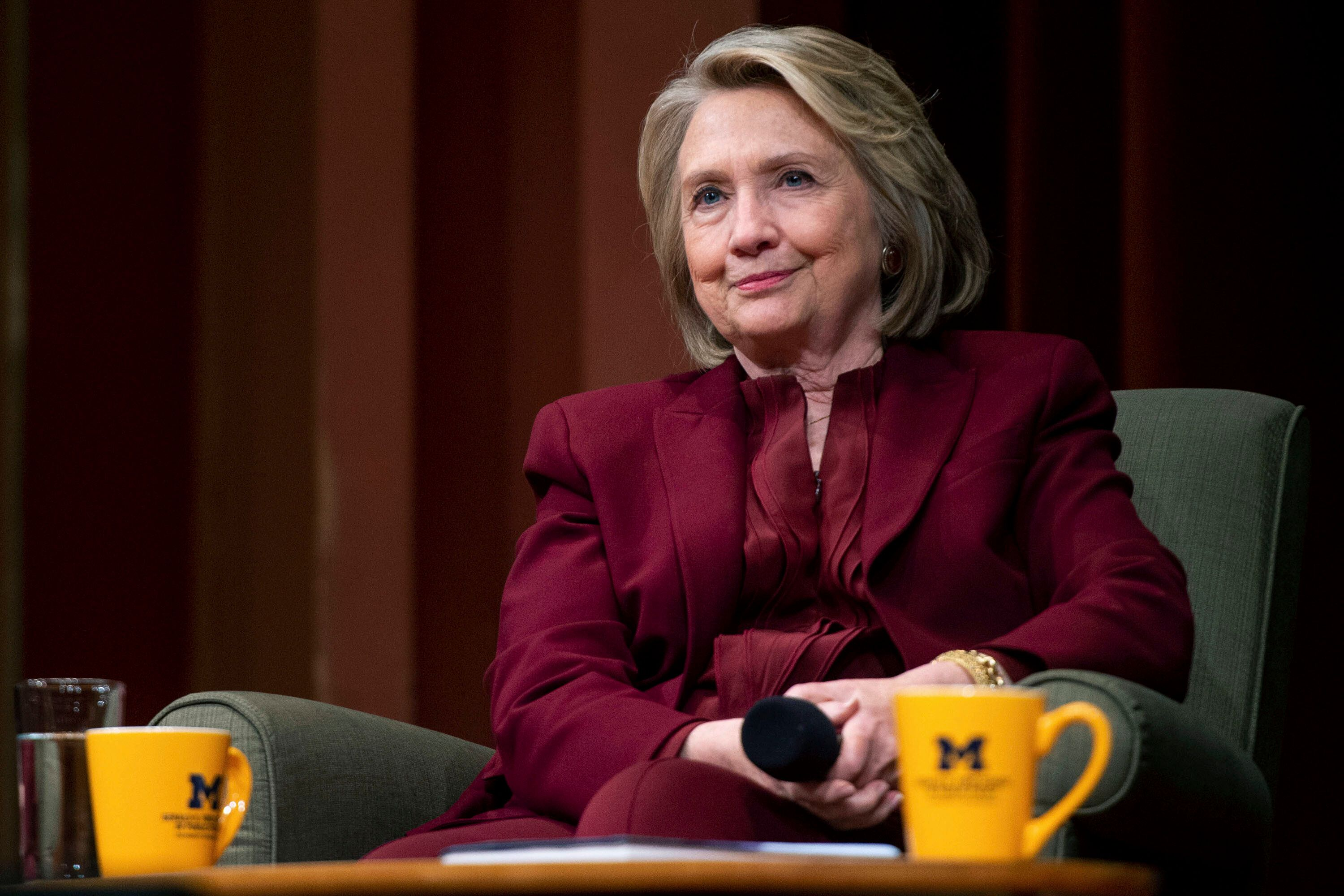Hillary Clinton Drops Out Of Women'...
