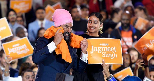 Jagmeet Singh, chef du Nouveau Parti