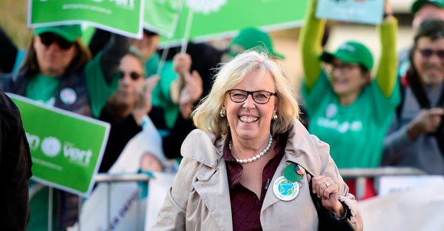 Elizabeth May, chef du Parti vert du